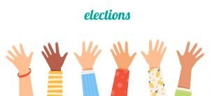 election - kids hands