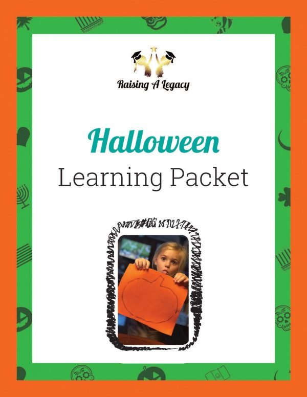 Halloween Learning Packet - Cover