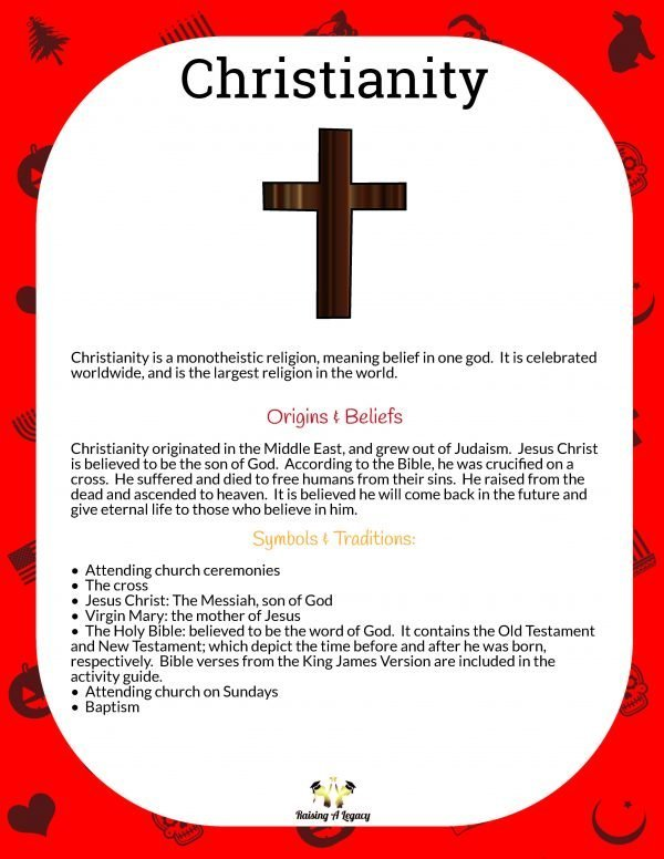 Christmas Learning Packet_christianity_origins