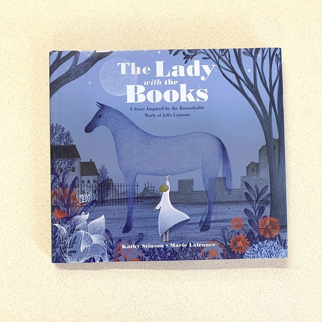 the lady with the books book cover